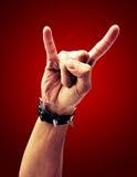 икона руки Стоковое Изображение