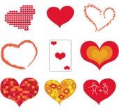 икона сердца Стоковое фото RF