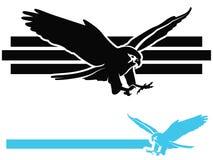 икона сокола Стоковые Фото