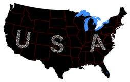 икона США Стоковая Фотография