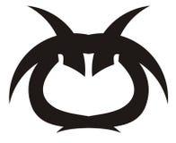 Икона сыча Стоковая Фотография