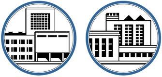 икона фабрики Стоковые Изображения RF