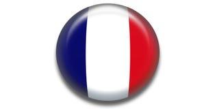икона Франции Стоковые Изображения
