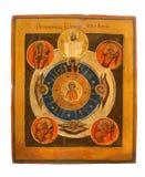 Икона церков стоковое изображение