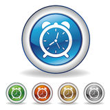икона часов Стоковые Изображения