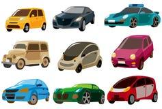 икона шаржа автомобиля Стоковое Фото