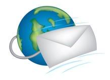 икона электронной почты Стоковое Фото