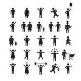Икона людей Стоковое Изображение RF
