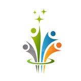 Икона людей Стоковая Фотография RF