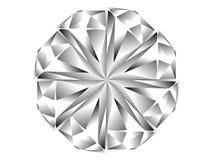 икона диаманта Стоковые Фотографии RF