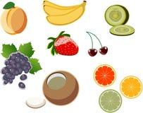 икона 2 плодоовощей Стоковые Фотографии RF