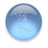 икона aqua Стоковая Фотография RF