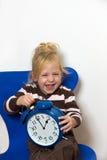 икона dst часов ребенка перестроения стоковое фото rf