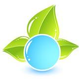 икона eco просто Стоковое Изображение