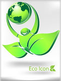 икона eco Стоковое фото RF
