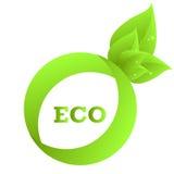 икона eco Стоковое Фото