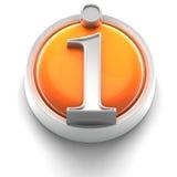 икона info кнопки Стоковая Фотография