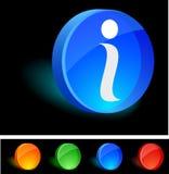 икона info Стоковое Изображение RF