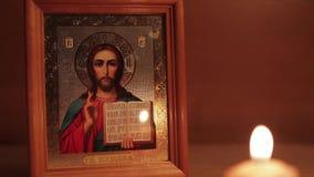 икона jesus christ видеоматериал
