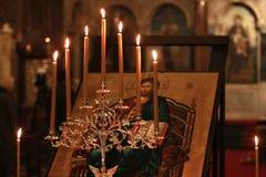 икона jesus christ Стоковые Изображения