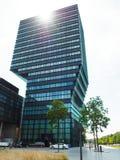Иконическая башня Imec в лёвене стоковые фото