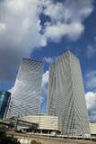 Иконические небоскребы Тель-Авив Стоковое Изображение