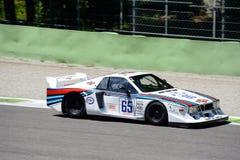 Иконический Lancia бета Монте-Карло Turbo стоковые фотографии rf