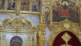 Иконостас в православной церков церков видеоматериал