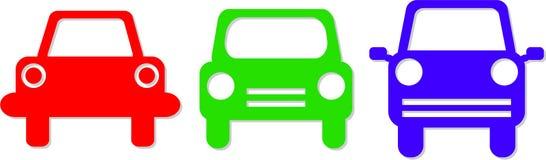 иконы автомобиля Стоковая Фотография