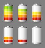 Иконы батареи Стоковая Фотография RF