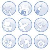 иконы всеобщие Стоковые Фотографии RF