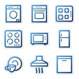 иконы домочадца приборов иллюстрация вектора