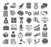 иконы дела cs2 eps ai включают Управление, маркетинг, карьера иллюстрация вектора