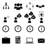 иконы дела cs2 eps ai включают Стоковые Изображения