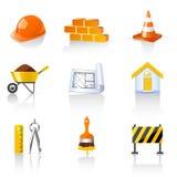 иконы здания Стоковые Фотографии RF
