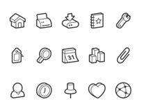 Иконы интернета Стоковое Фото