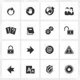 Иконы интернета Стоковая Фотография RF