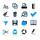 иконы компьютера Стоковые Изображения
