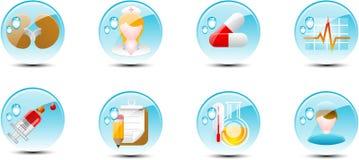 иконы медицинские Стоковая Фотография