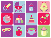 иконы младенца иллюстрация штока
