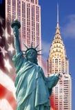 иконы новые США york Стоковое Фото