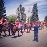 иконы дня Канады кнопок установили Стоковое Изображение