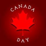 иконы дня Канады кнопок установили Стоковое фото RF