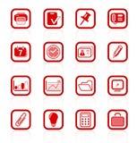Иконы офиса стоковые изображения rf