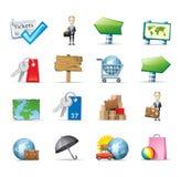 Иконы перемещения Стоковая Фотография RF