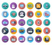 Иконы приборов Стоковое фото RF