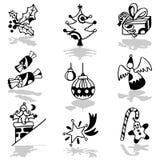 иконы рождества Стоковые Изображения RF
