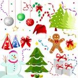 иконы рождества Стоковое фото RF