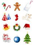 иконы рождества Стоковое Изображение RF