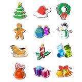 Иконы рождества Стоковая Фотография